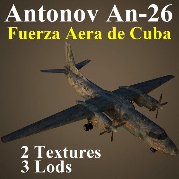 an-26 far 3d model