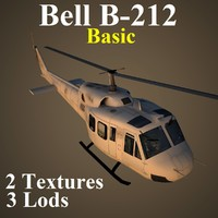 3d bell basic helicopter