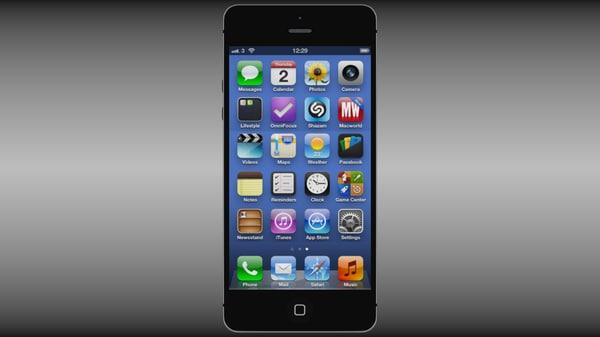 apple iphone 5 obj
