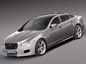 2013 2014 sedan luxury 3d model