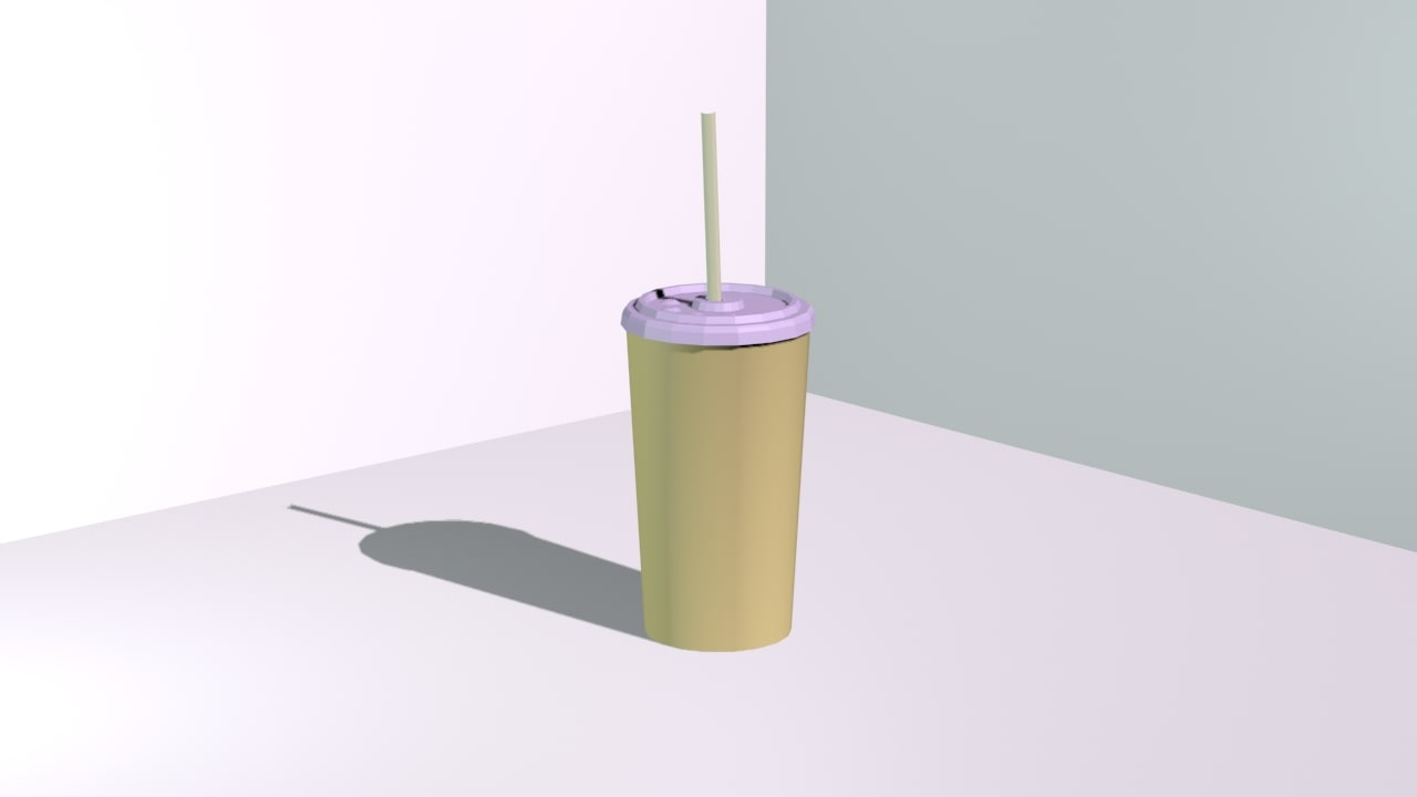 3ds paper cup