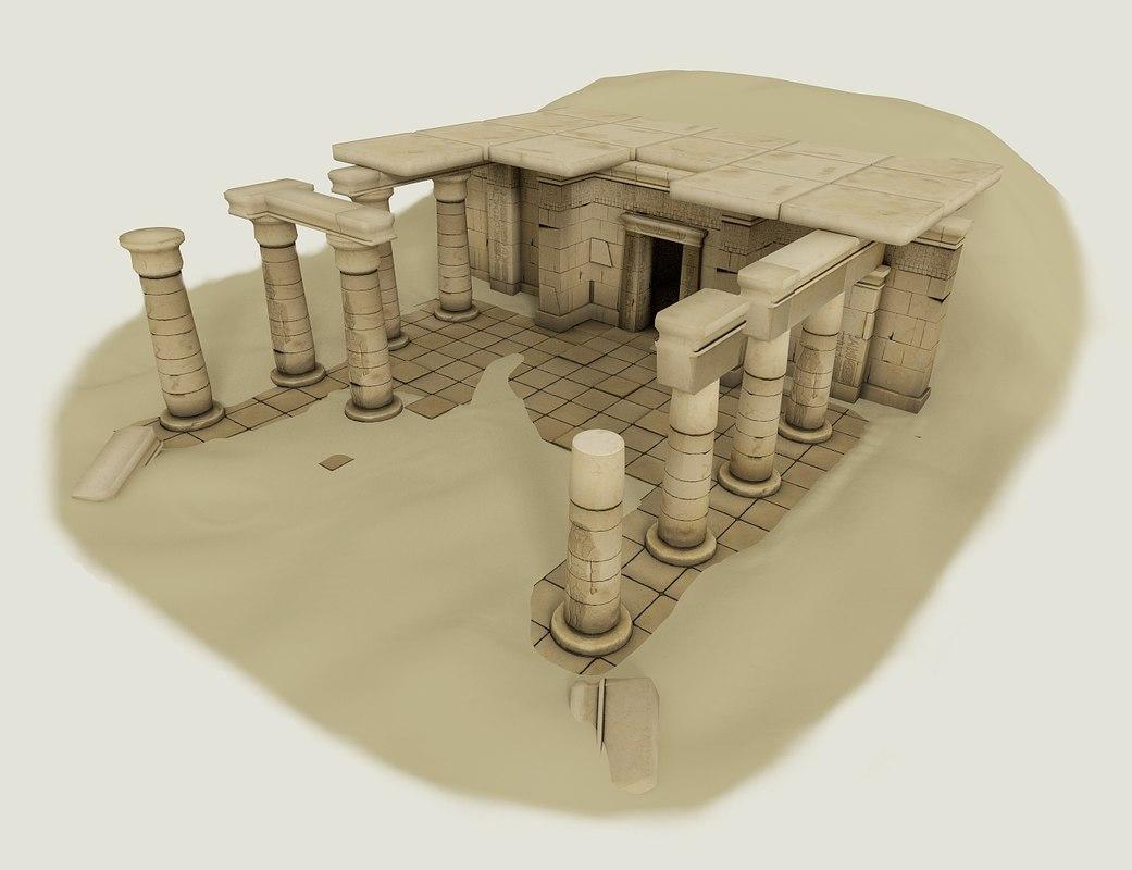 blender set ancient egypt