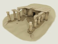 Ancient EGYPT - modular low poly architecture set for games.