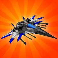 3dsmax fi space fighter