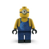 minion follower character 3ds