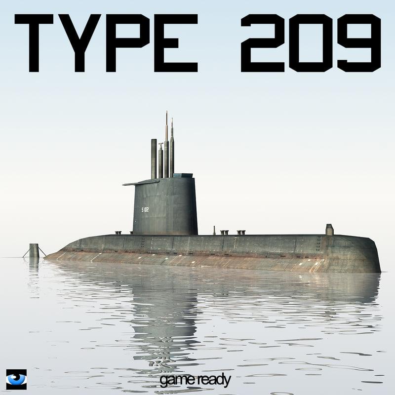 obj type 209 submarine