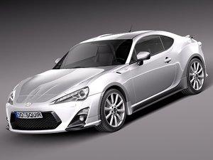 3d 2012 2014 sport coupe model