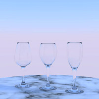 3_WineGlasses_OBJ