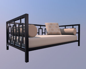 daybed bed 3ds