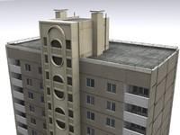 sixteen-house 3d model