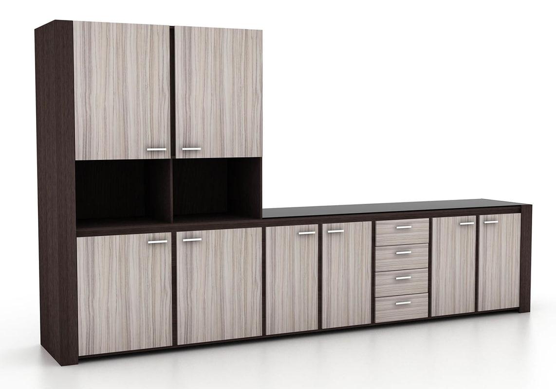Mueble de cocina de diseño moderno