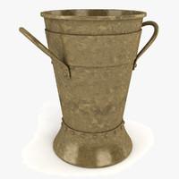 dxf metal vase