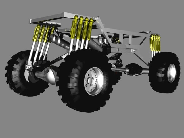 4x4 MONSTER TRUCK FRAME