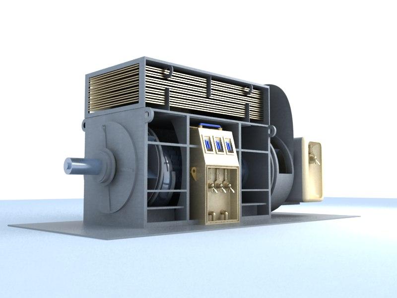 industry machine v1 3d model