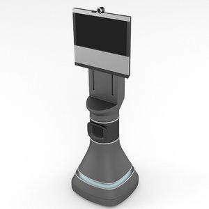 telepresence robot 3d model