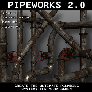 3d pipeworks 2 0 model
