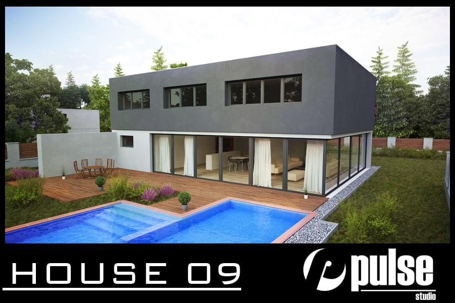 3d house 09 model