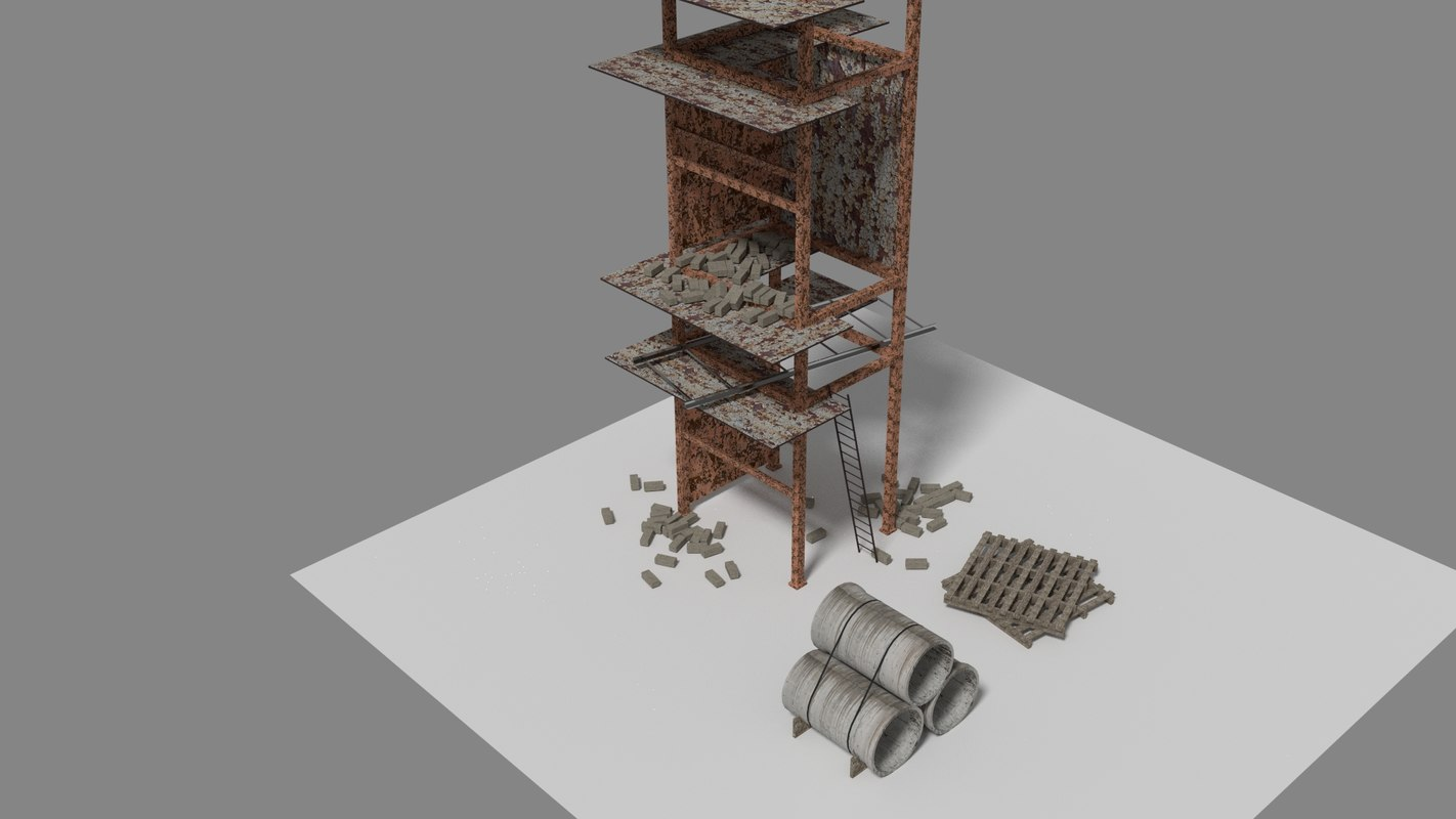 3d elements construction model