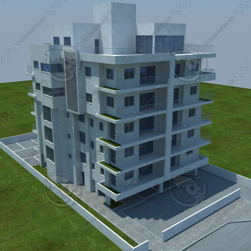 3d max buildings 1 3