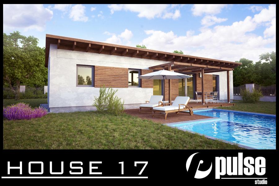 3d family house 17