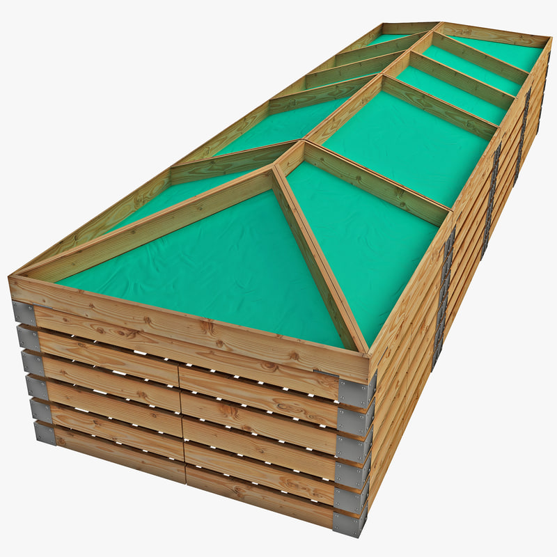 supermarket shelf 3d model