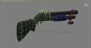 3d model remington 870