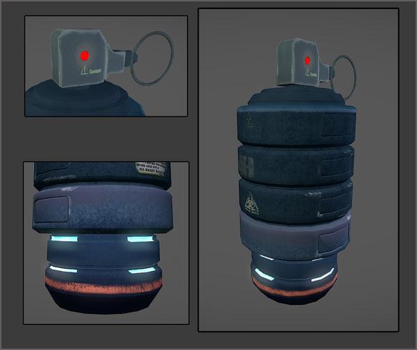 sci-fi grenade max