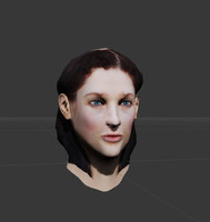 ready female head udk max