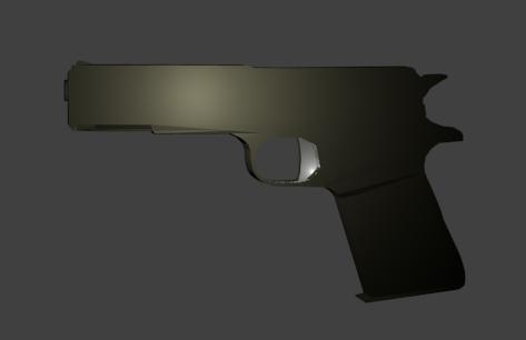 free blend model pistol m1911