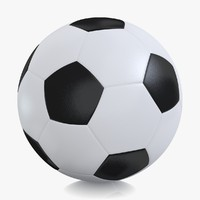 classic soccer football ball 3d 3ds