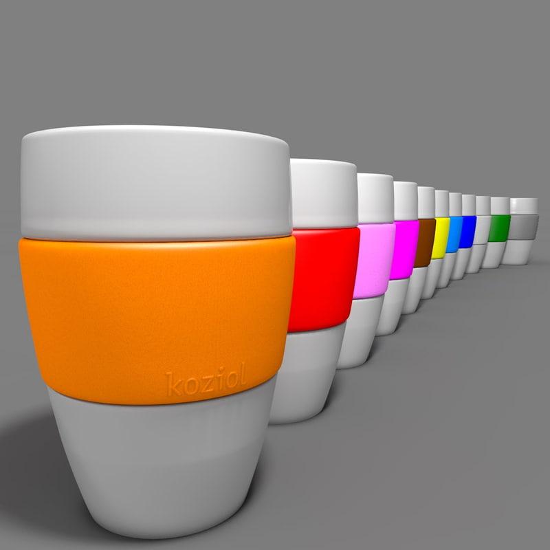 3d koziol aroma cup