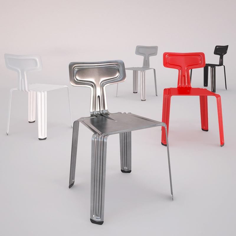 3d pressed chair moormann
