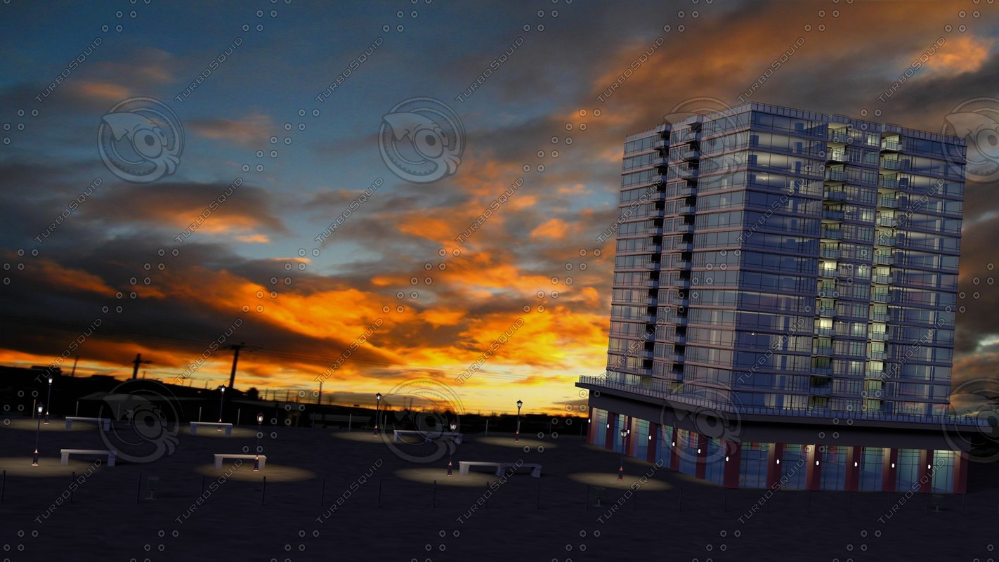 3ds max residential building