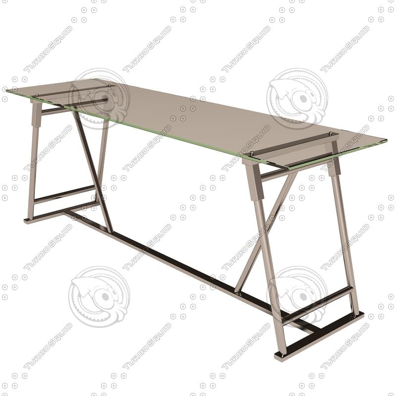 eichholtz desk maddox 3d model