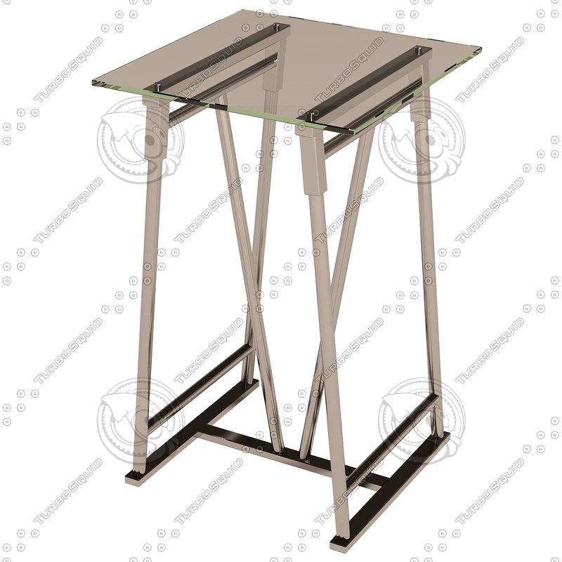 eichholtz table column maddox 3ds