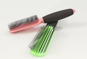 3d hairbrush brush hair