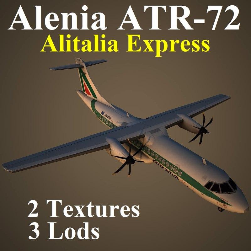 3d model of alenia aza