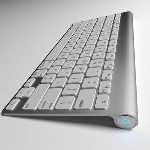 3d model keyboard blender cycles