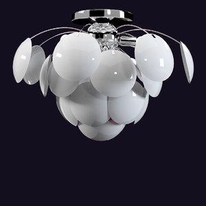lussole chandelier 3d 3ds