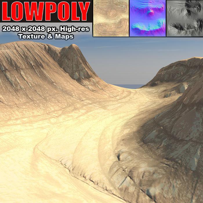 canyon maps terrain 3d obj