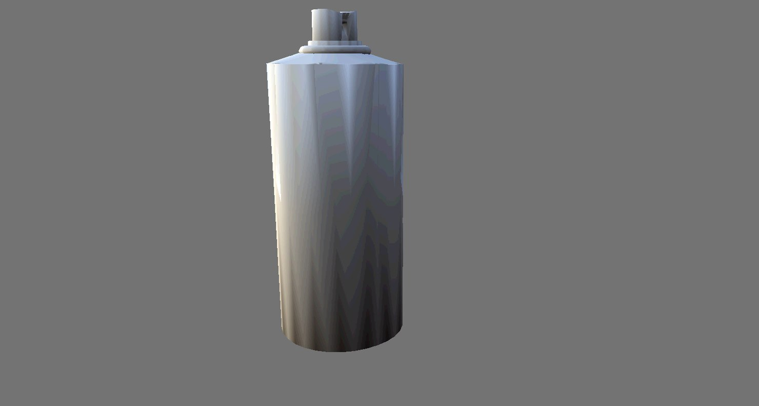 free 3ds model spray