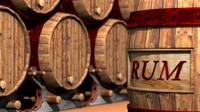 3ds max barrel wine pirate