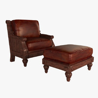 max leather armchair stickley
