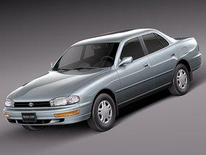 3d model japan car classic sedan