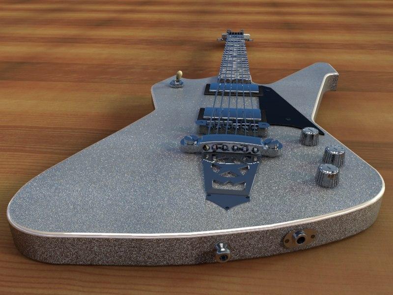 3d washburn ps1800 special guitar model
