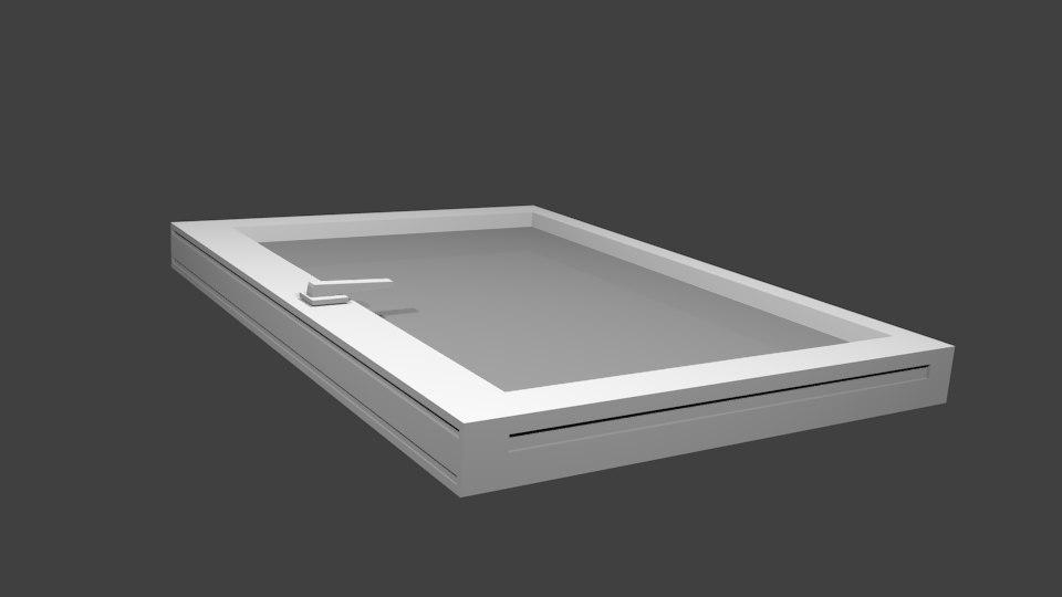 free 3ds model window pvc