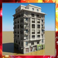 3d model building 40