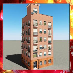 3d building 45