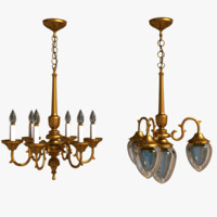 Hanging Lamps (2 pcs)