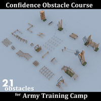 max confidence obstacle course